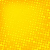foto of dots  - Abstract dotted yellow background texture - JPG