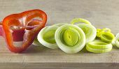 foto of leek  - Fresh vegetables - JPG