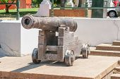 picture of cannon  - Historic cannon in the Company Gardens in Cape Town South Africa - JPG