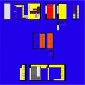 picture of premises  - Drawing walls of residential premises interior color - JPG