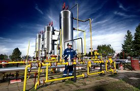 image of production  - Operator in the natural gas production industry