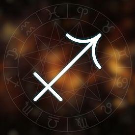 stock photo of sagittarius  - Zodiac sign  - JPG