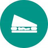 stock photo of eatables  - Sandwich - JPG