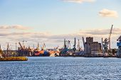 image of shipyard  - Industry area  - JPG