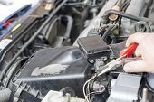 picture of pliers  - The process of repair wiring car using pliers - JPG