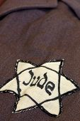 picture of hitler  - Yellow star of David on his coat memory holocaust - JPG