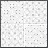 picture of dash  - Seamless pattern - JPG