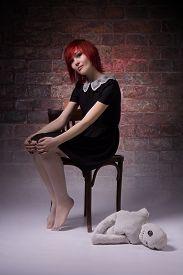 image of rag-doll  - Red - JPG