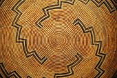 picture of cultural artifacts  - A Native American woven basket pattern - JPG