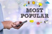 Постер, плакат: Most Popular Best Choice Seller Product Top Most Popular