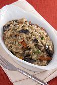 pic of crimini mushroom  - Creamy risotto with portobello mushrooms and sun dried tomatoes - JPG