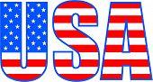 Постер, плакат: Американский флаг 5 Ai