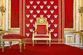 image of throne  - Throne of Polish king - JPG