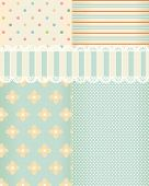 picture of shabby chic  - Vector background in style shabby chic - JPG