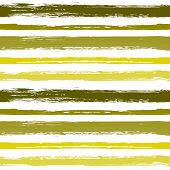 Seamless Pattern With Hand Drawn Grunge Strips.paint Stripes Grunge Background Vector.  Monochrome B poster
