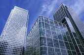 picture of commercial building  - Commercial buildings of modern architecture in London - JPG