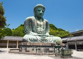 foto of kanto  - Famous Great Buddha bronze statue in Kamakura - JPG