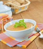 Cream Soup Red Lentils