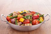 stock photo of stew  - ratatouille - JPG