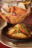 picture of tagine  - Camel Tagine in a Morocco Cuisine Restaurant - JPG