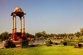 picture of india gate  - The Canopy near India Gate - JPG