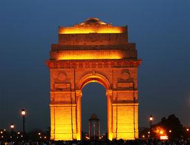 foto of british culture  - India Gate in New Delhi - JPG