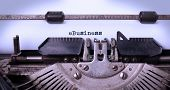 stock photo of ebusiness  - Vintage inscription made by old typewriter eBusiness - JPG