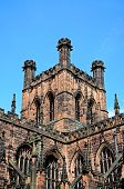 stock photo of church-of-england  - Cathedral Church South front Chester Cheshire England UK Western Europe - JPG