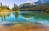 pic of landforms  - Glacier National Park - JPG