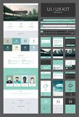 image of scroll design  - All in one set for website design that includes one page website templates and ux - JPG