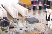 foto of rework  - Computer motherboard - JPG