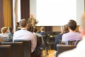 foto of audience  - Speaker at Business Conference and Presentation - JPG