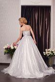 picture of beauty salon interior  - beautiful and fashion bride in luxury interior - JPG