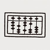 picture of subtraction  - Doodle Abacus - JPG