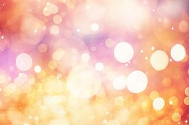 foto of colore  - Festive Background With Natural Bokeh And Bright Golden Lights. Vintage Magic Background With Color