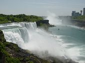 Постер, плакат: Ниагарский водопад СШАКанада