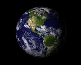 foto of planet earth  - 3d high resolution rendered Planet Earth - JPG