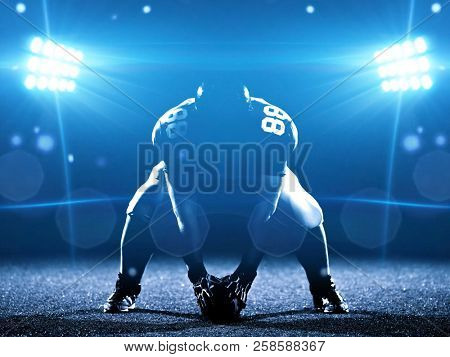 American football player starting football