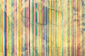 Geometric Pattern On Paper, Background Of Faded Color Lines, Illustration poster