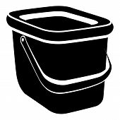 Basket Icon. Simple Illustration Of Basket Icon For Web poster