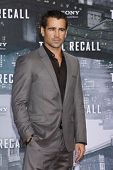 BERLIN, GERMANY - AUGUST 13: Colin Farrell at the German premiere of 'Total Recall' at Sony Center o