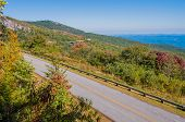pic of asheville  - Blue Ridge Parkway Scenic Mountains Overlooking beautiful landscapes - JPG