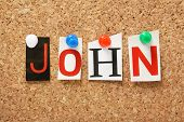 stock photo of bible story  - The name John - JPG