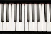 foto of ivory  - grand piano ebony and ivory keys - JPG