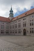 picture of munich residence  - Munich Residence historic seat of the dukes electors and kings of Bavaria Wittelsbach dynasty - JPG