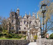 image of templar  - Quinta da Regaleira in Sintra Portugal - JPG