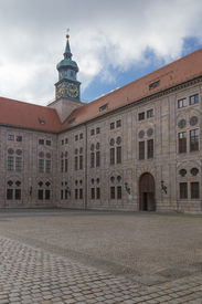stock photo of munich residence  - Munich Residence historic seat of the dukes electors and kings of Bavaria Wittelsbach dynasty - JPG