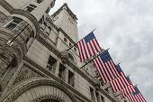 foto of old post office  - Old Post Office building on Pennsylvania Avenue in Washington DC - JPG