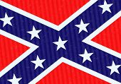 foto of confederation  - Confederate flag grunge texture abstract vector background - JPG