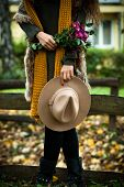 foto of vest  - autumn fashion details - JPG